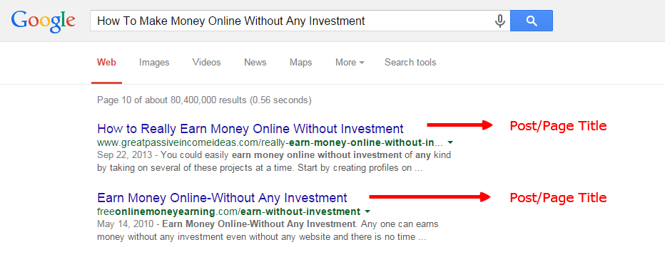 How To Make Money Online Without Any Investment - Google Search-min