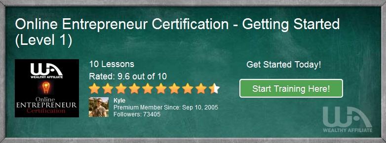 Online certification getting started banner,build 2 websites free