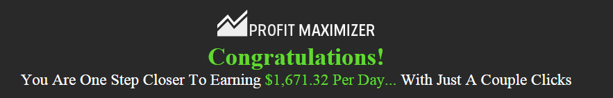 is profit maximizer a scam