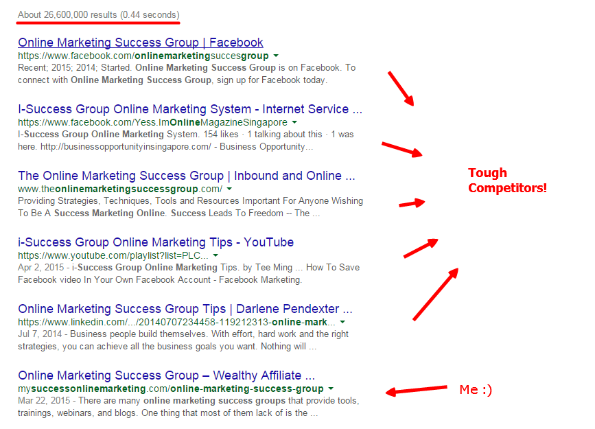 online marketing success group - Google Search