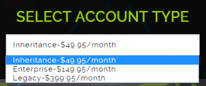 option domination account type