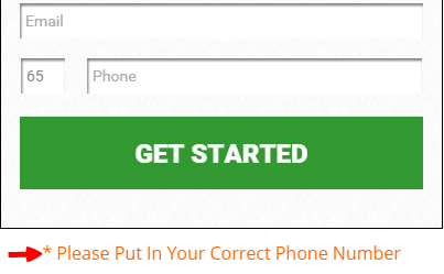 Abundance unlimited wants your phone number