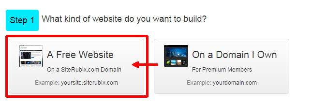 how to make free website with free domain name