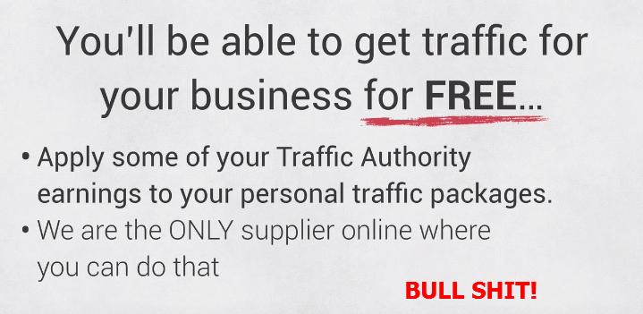 Traffic Authority Fake claim