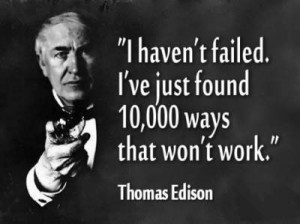 how to be smart in daily life thomas edison