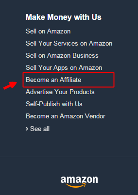 amazon affiliate program copy paste job