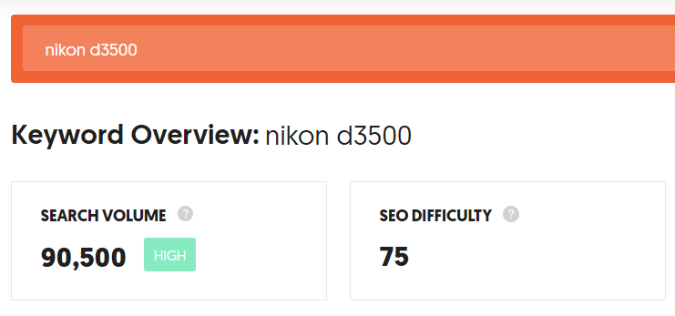 Deleting Chegg Account nikon d3500 search volume
